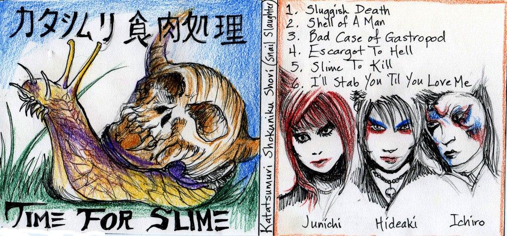 Katatsumuri Shokuniku Shori - Time For Slime